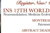 INS 12th World Congress: 6-11 June 2015