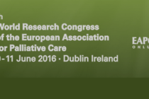 Dublin 9-11 June 2016 – The Irish Association for Palliative Care (IAPC) and the European Association for Palliative Care Congress