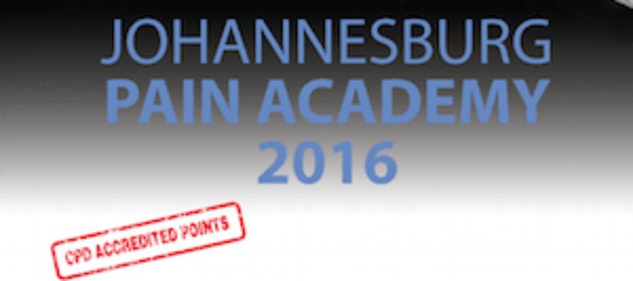 2016 Johannesburg Pain Academy