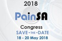 2018 PainSA Congress, 18 – 20 May 2018