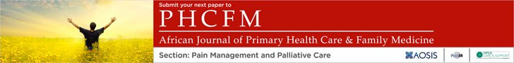 The African Journal of Primary Health Care & Family Medicine