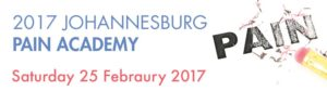 "#2017JHBPainAcademy: Dershnee Devan will be presenting the Ethics lecture titled: ""The many faces of Pain"" 6"