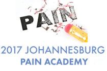 2017 Johannesburg Pain Academy, 25th February 2017