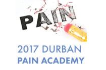 2017 Durban Pain Academy, 10th June 2017
