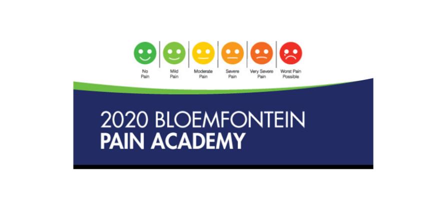 2020 Bloemfontein Pain Academy – 22 August 2020