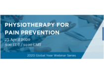 Free Webinar: Physiotherapy for Pain Prevention
