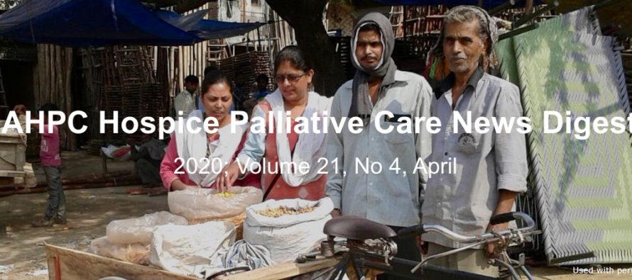 IAHPC Hospice Palliative Care News Digest, April 2020