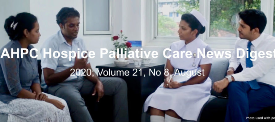 IAHPC Hospice Palliative Care News Digest, August 2020