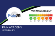 2020 Pain Academy webinar – Burnout and ways to develop Resilience in Healthcare workers