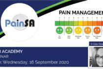 2020 Pain Academy Webinar – Dr Elize Cloete