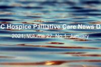 IAHPC Hospice Palliative Care News Digest, January 2020